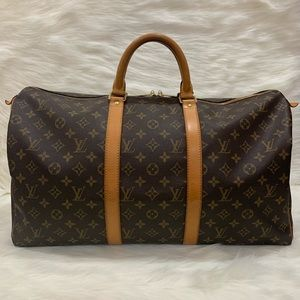 🛑SALE🛑🌼Authentic Louis Vuitton Keepall 50🌼